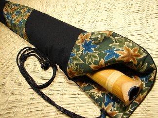 Shakuhachi Vapor Lock Carrying Bag 1