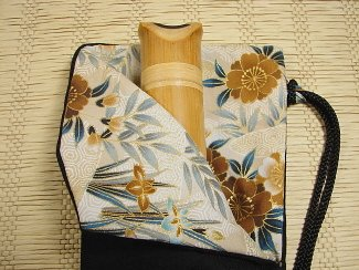 Shakuhachi Vapor Lock Carrying Bag 1