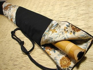 Shakuhachi Vapor Lock Carrying Bag 2